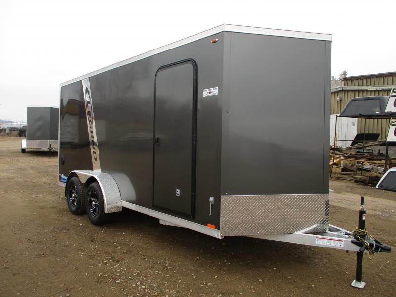 2019 Legend Manufacturing 7x18 Tandem Axle Aluminum Enclosed Cargo Trailer