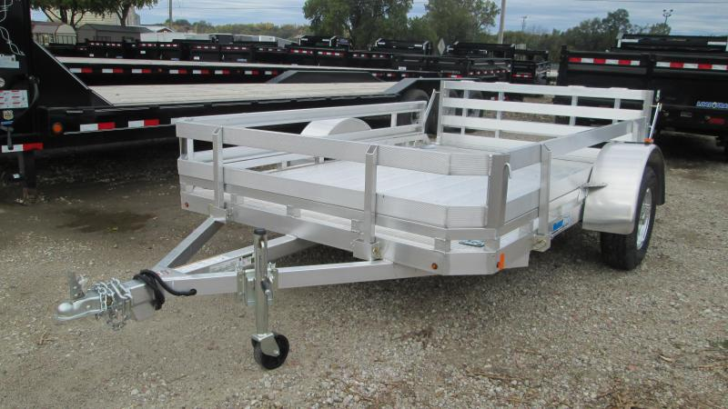 2018 CargoPro 6.5x10 Single Axle Aluminum Utility Trailer