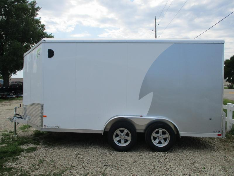 2020 NEO Trailers 7.5x14 Tandem Axle Aluminum Enclosed Cargo Trailer