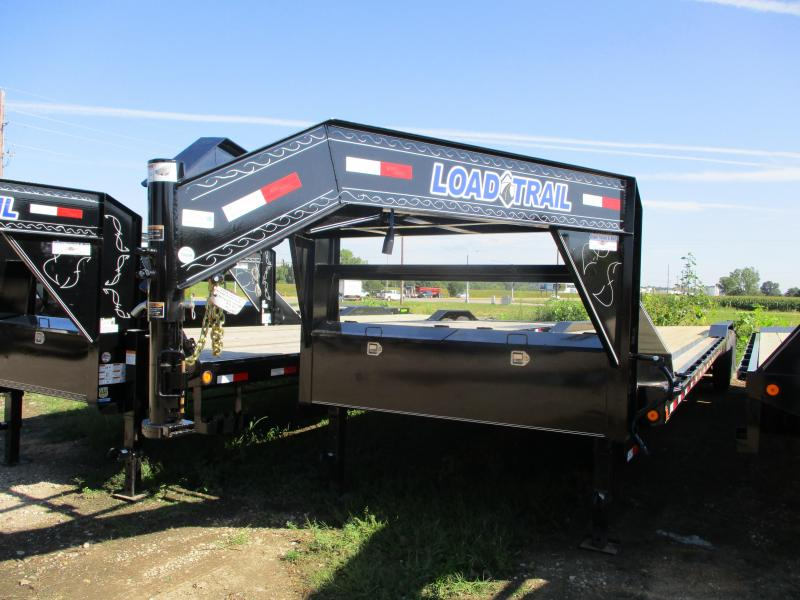 2019 Load Trail 102x40 Triple Axle Gooseneck Carhauler Equipment Trailer