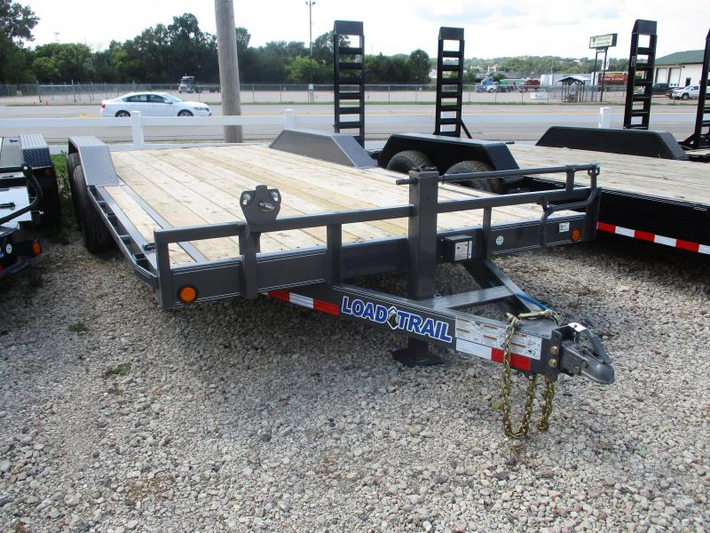 2018 Load Trail 102x20 Tandem Axle Carhauler Equipment Trailer
