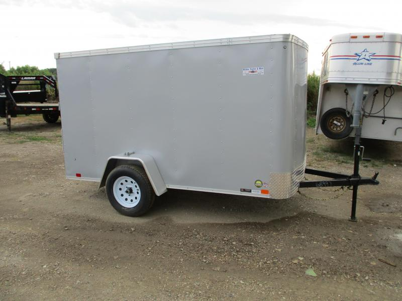 2020 United Trailers 6x10 Single Axle Enclosed Cargo Trailer