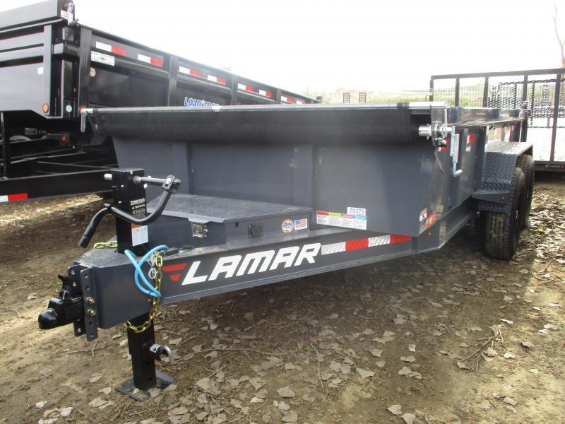 2019 Lamar Trailers 83x14 Tandem Axle Dump Trailer