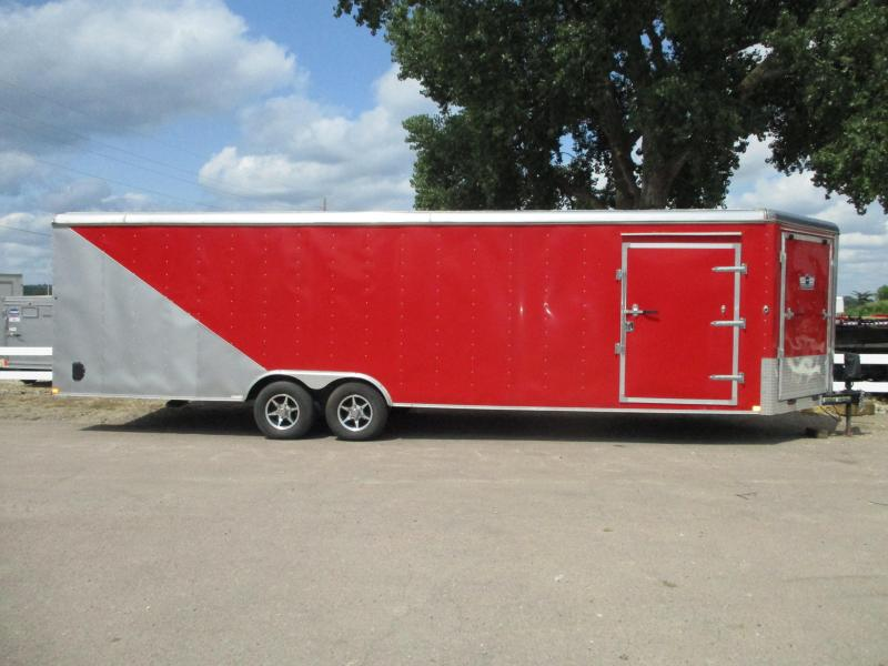 2014 Carry-On 8.5x28 Tandem Axle Enclosed Cargo Trailer