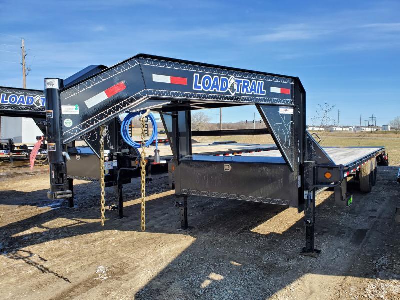 2020 Load Trail 102x25 Heavy Duty Gooseneck Flatbed Trailer