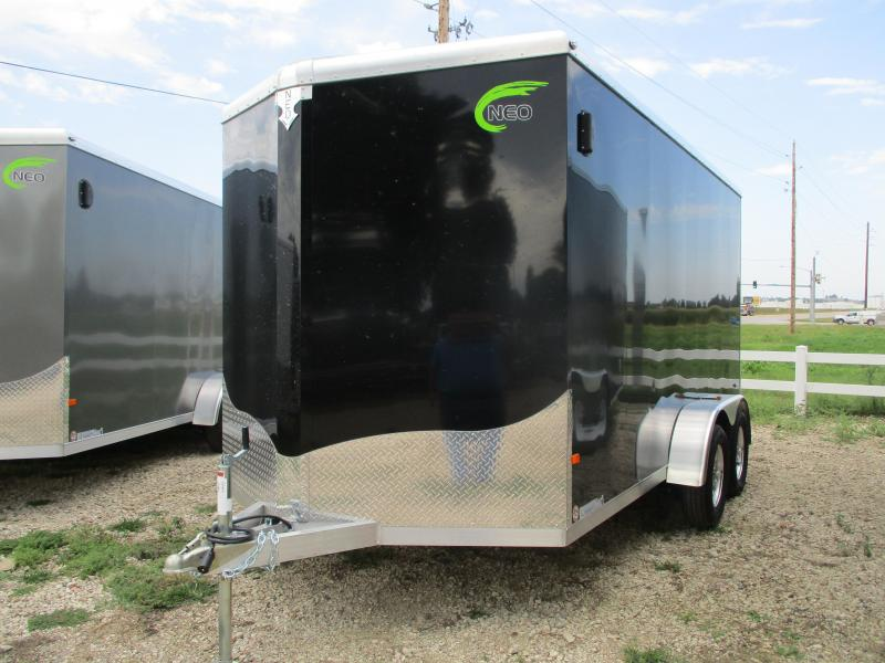2020 NEO Trailers 7x14 Tandem Axle Aluminum Enclosed Cargo Trailer