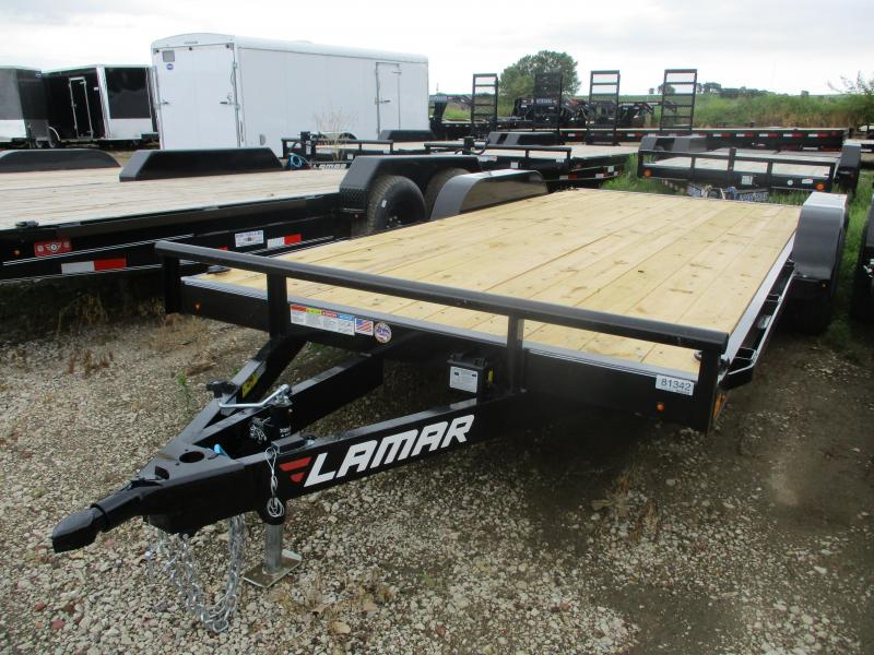 2019 Lamar Trailers 83x18 Tandem Axle Equipment Trailer