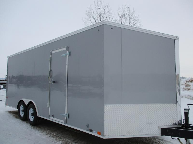 2018 United Trailers 8.5x20 Tandem Axle Enclosed Cargo Trailer