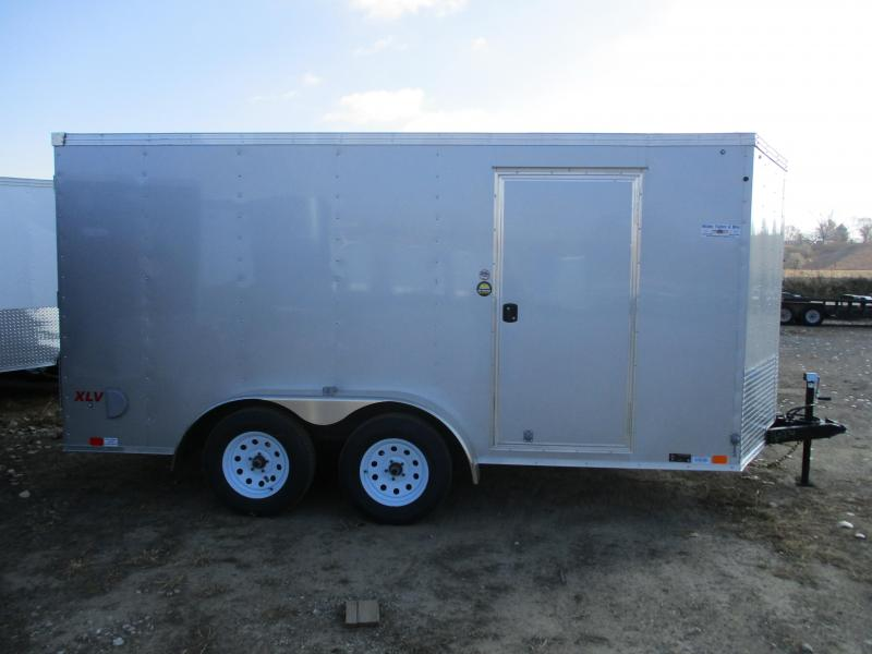 2018 United 7x14 Tandem Axle Enclosed Cargo Trailer