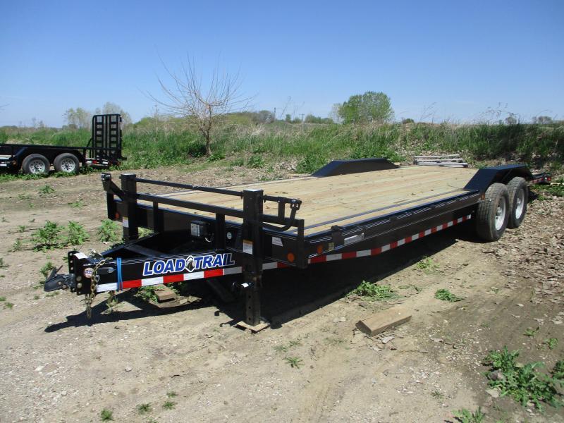 2019 Load Trail 102x24 Tandem Axle Carhauler Equipment Trailer