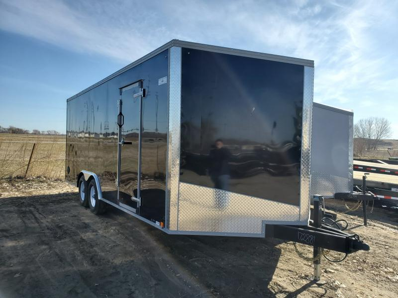 2020 United Trailers 8.5x20 Tandem Axle Enclosed Cargo Trailer