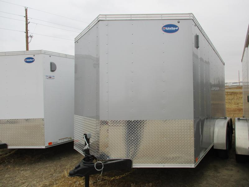 2018 United Trailers 7x14 Tandem Axle Enclosed Cargo Trailer