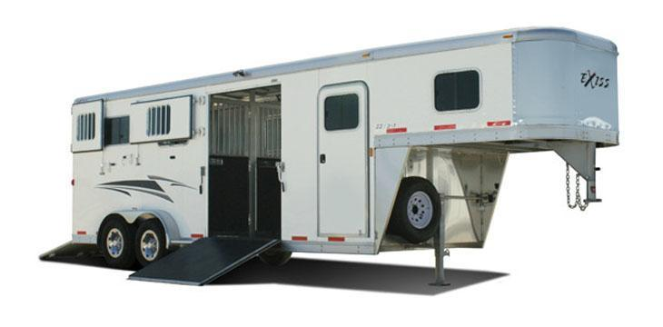 2014 Exiss 7200 SR (2+1) Trailer