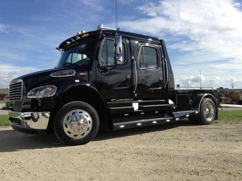 2014 SportChassis RHA 114-350 Truck Black & Tan