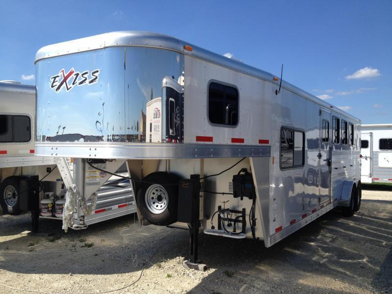 MUST GO NEW 2014 Exiss exiss 7408 LQ Horse Trailer