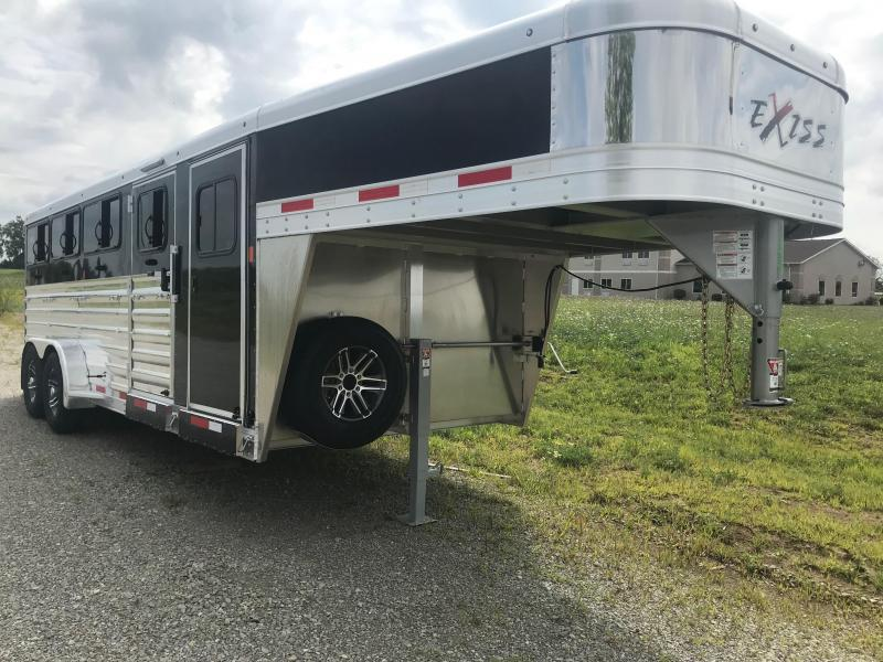 2019 Exiss Exhibitor 7020W 8 Pen Trailer