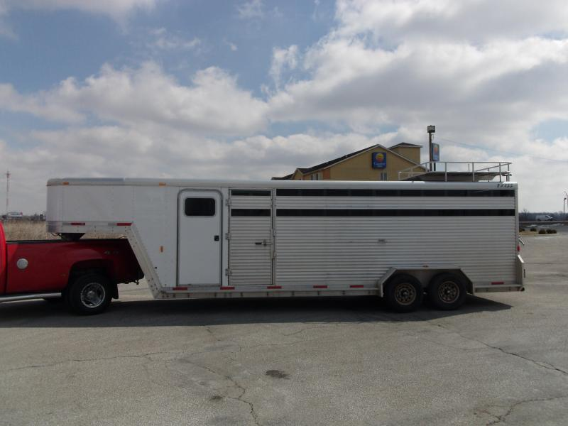 2001 Exiss 24' Stock Trailer