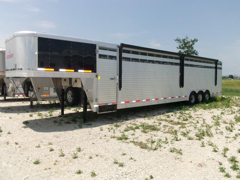 2013 Sooner Ranch 836 Stock Combo Trailer