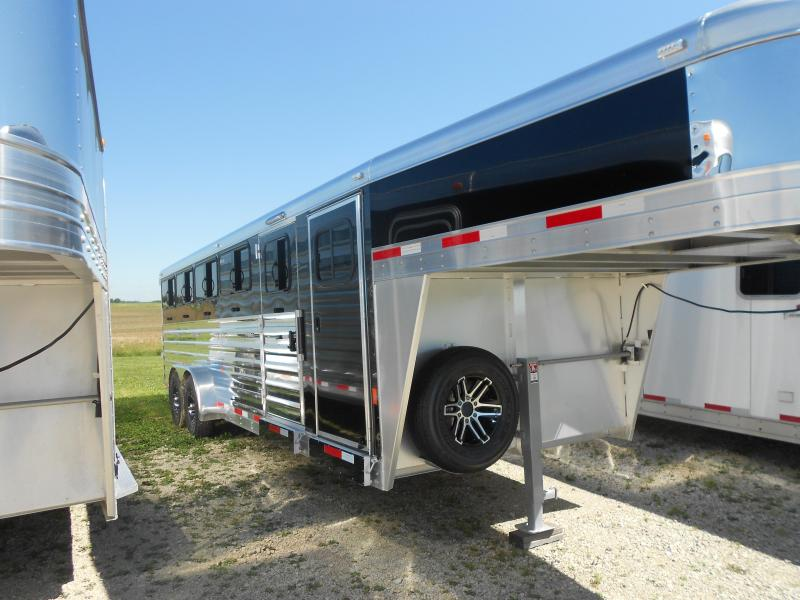 2018 Exiss Trailers 7024W Livestock Trailer