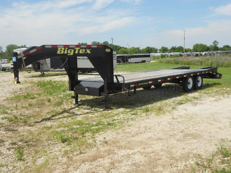 2016 Big Tex Trailers 14GN-20BK5 Flatbed Trailer