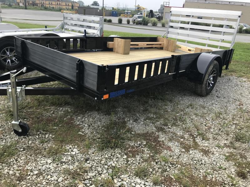 "2019 Mission 80""x14' Equipment Trailer"