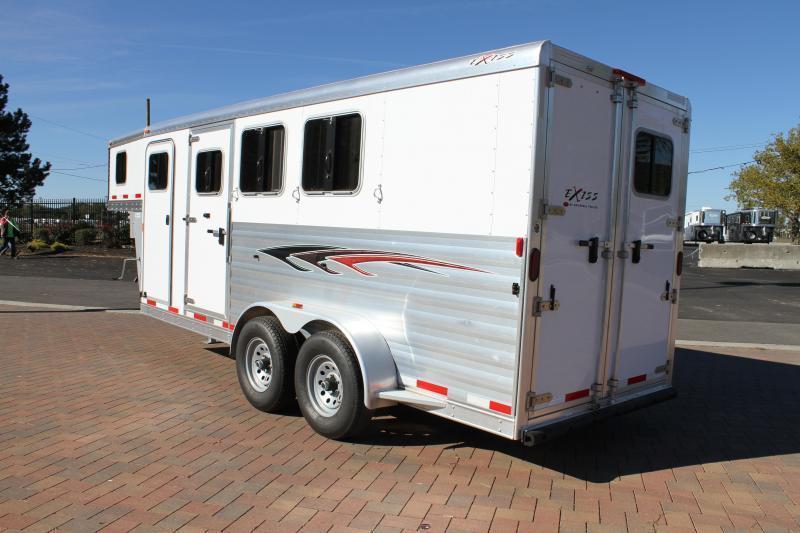 2015 Exiss 6300 GN Horse Trailer