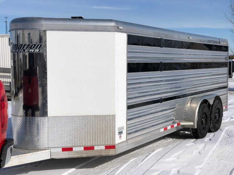 2013 Cimarron Trailers 720 BP 8 Pen Livestock Trailer
