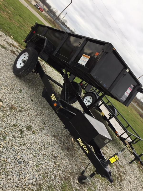 2017 Big Tex Trailers 50SR-10-5W Dump Trailer