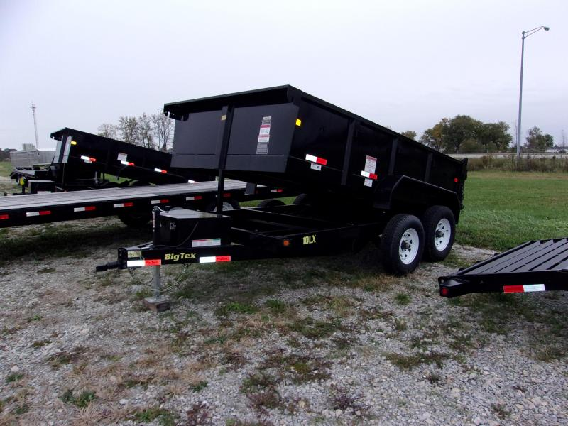 2016 Big Tex Trailers 10LX Dump Trailer