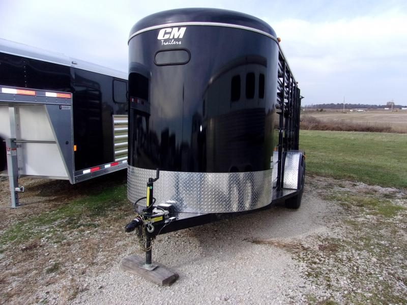 2016 CM 6 x 15 Stocker Livestock Trailer