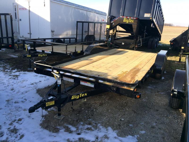 2016 Big Tex Trailers 70CH-18BKDT Car / Racing Trailer
