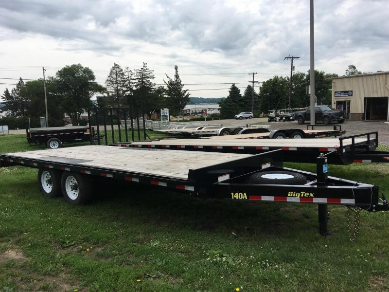 2018 Big Tex Trailers 140A-20BK-8SIR Equipment Trailer