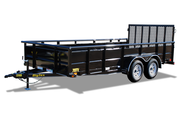 2017 Big Tex 70TV-16BK Vanguard Utility Trailer