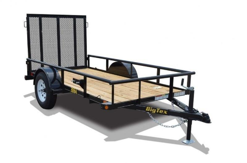 2019 Big Tex 30SA-10 Utility Trailer