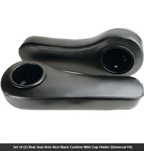 Arm Rest Cushion with cup holders