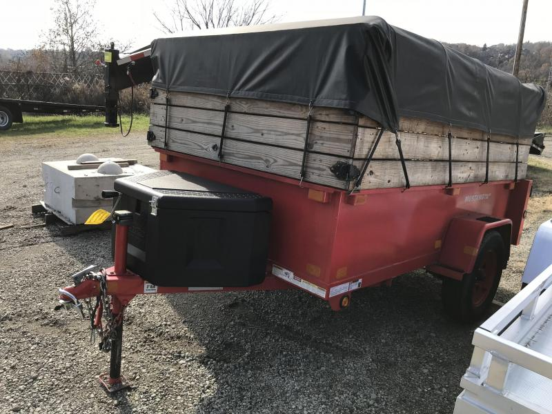 USED 2012 5x8 Mustang Utility Trailer