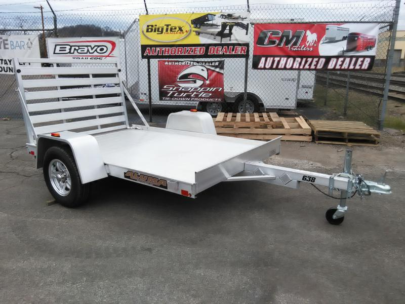 2017 Aluma 63 X 8 ALUMA SINGLE AXLE UTILITY TRAILER