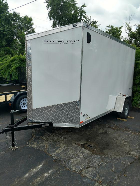 2018 Stealth Trailers 6X12 Titan Enclosed Cargo Trailer