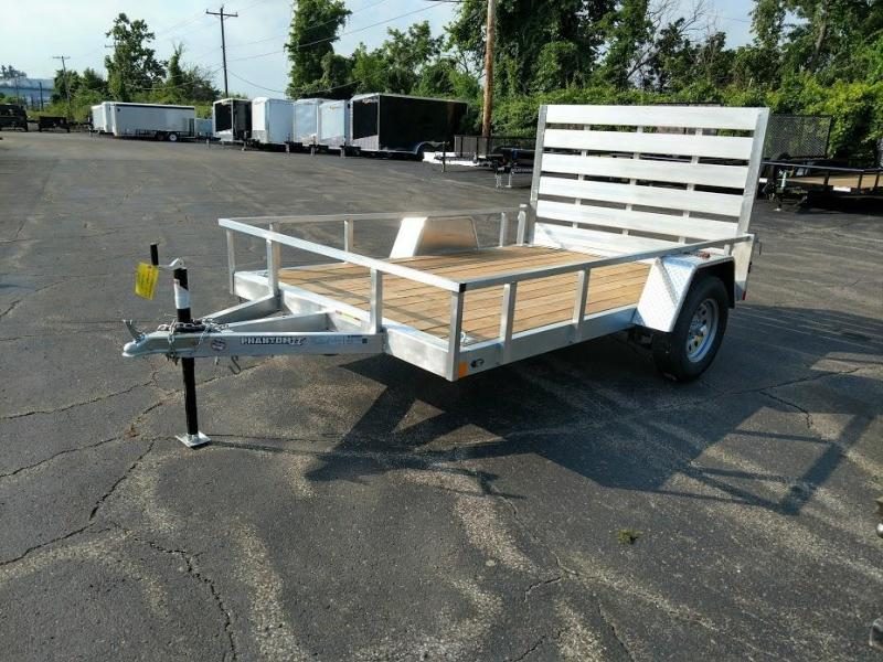 2019 Stealth Trailers 6.5 X 10  Phantom ll Series Aluminum Utility Trailer