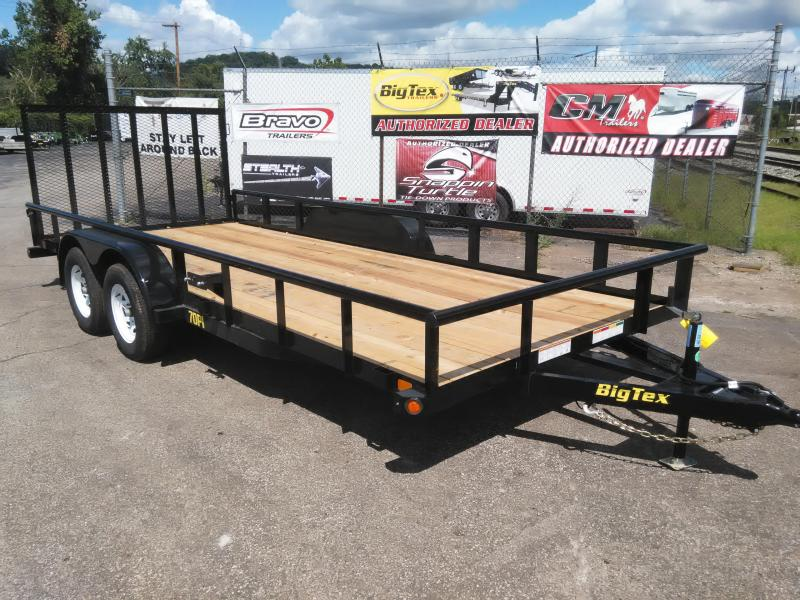 2017 Big Tex Trailers 70PI-18X Pipe Utility Trailer