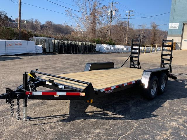 2018 Currahee E718.12KD Flatbed Trailer