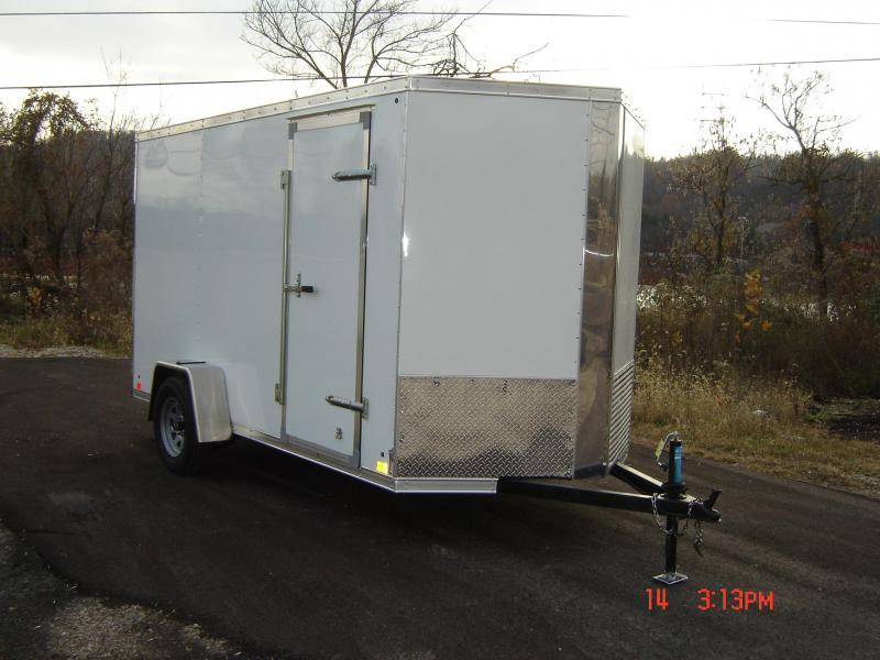2018 Cross Trailers 6X12 ALPHA Enclosed Cargo Trailer