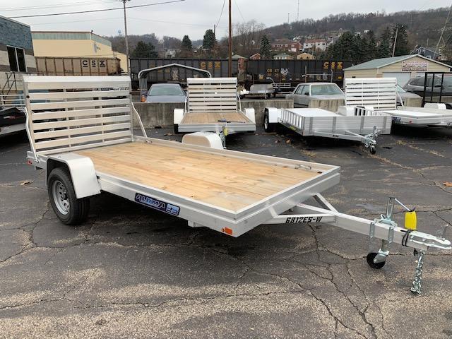 6812ES-W 2019 Aluma 68 X 12 Utility Trailer