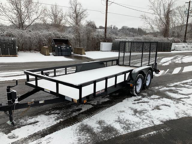 2019 Currahee 6 X 16 Light Duty Landscape Utility Trailer