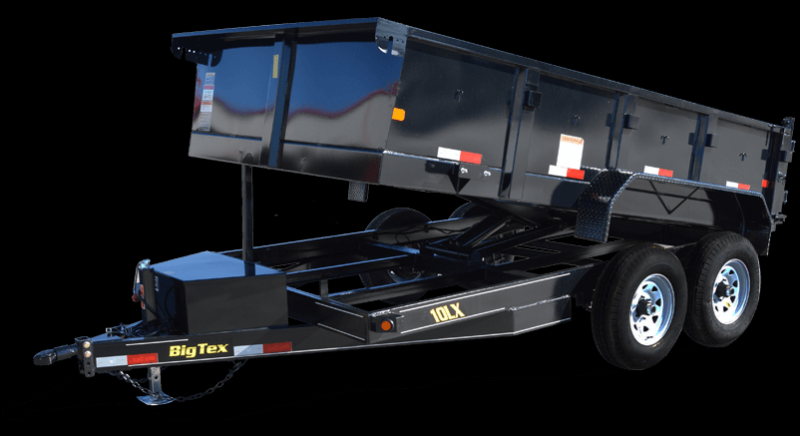 2018 Big Tex Trailers 10LX-12BK7SIR Dump Trailer