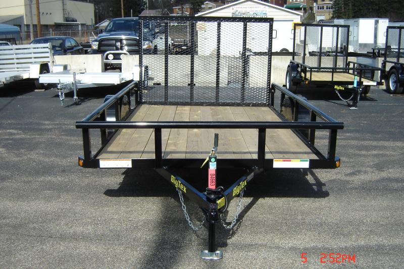2018 Big Tex Trailers 35SA-10BK Utility Trailer