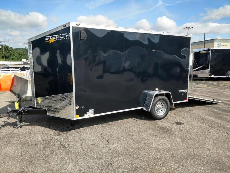 2019 Stealth Trailers 7 X 12 Titan Series Enclosed Cargo Trailer