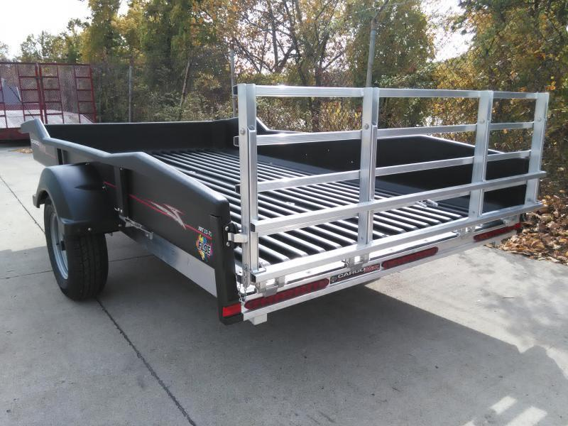 2018 Floe CM 8-57-XRT Polymer Bed Utility Trailer
