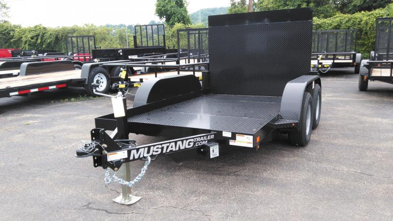 2016 Mustang Trailers MANLIFT Equipment Trailer
