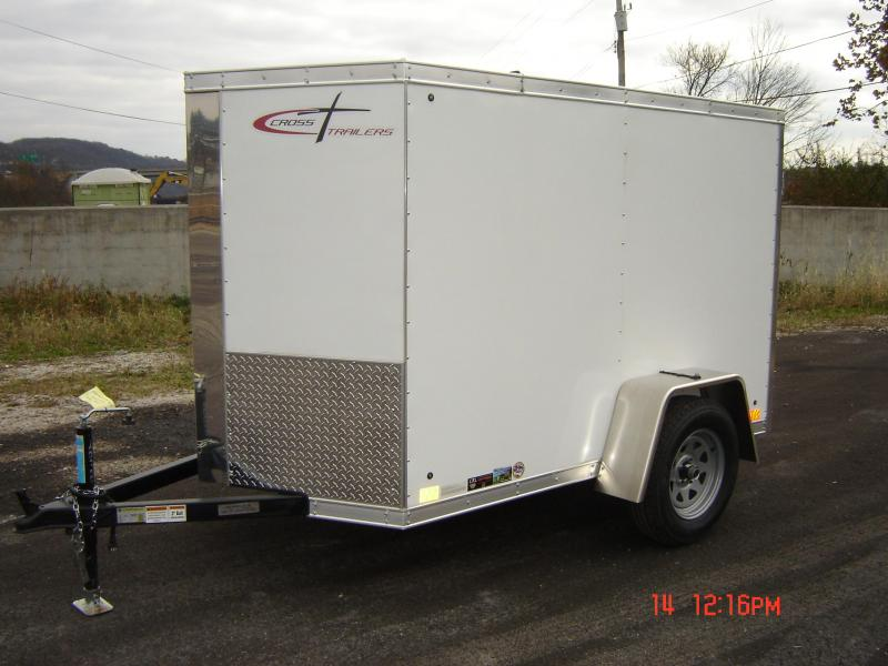 2018 Cross Trailers 58SA-ALPHA Enclosed Cargo Trailer
